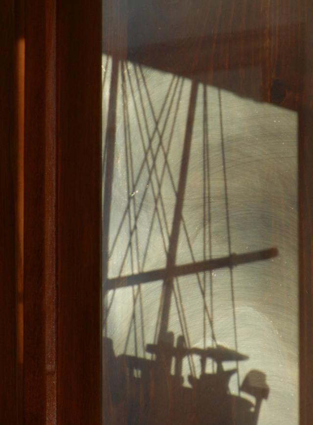 Ship shadow