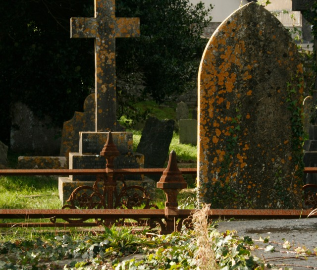 Graveyard in Ireland